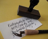 I've done this since I could write. This to me is the prettiest form of writing! :-)