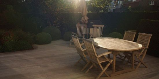 How To Clean Teak Patio Furniture Home Pinterest