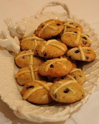 Hot cross buns cookies | Food | Pinterest