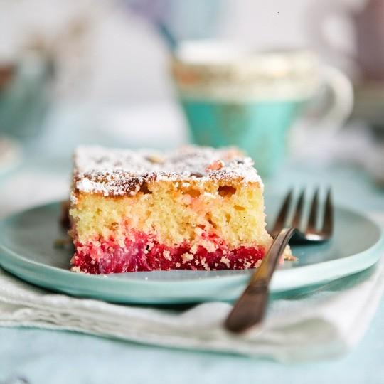 BIG PINK RHUBARB CAKE | YOU'RE BAKING ME CRAZY | Pinterest
