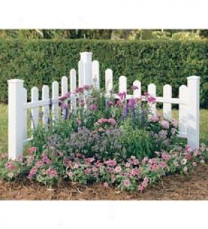 White picket fence garden ideas pinterest for White garden fencing ideas