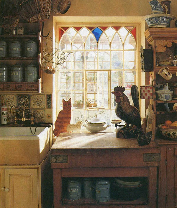 Window French Country Kitchen Pinterest