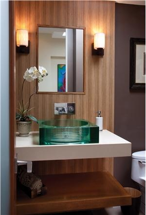 Contemporary (Modern, Retro) Bathroom by John Mills Davies