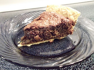 Chocolate Oatmeal Pie, our new family favorite