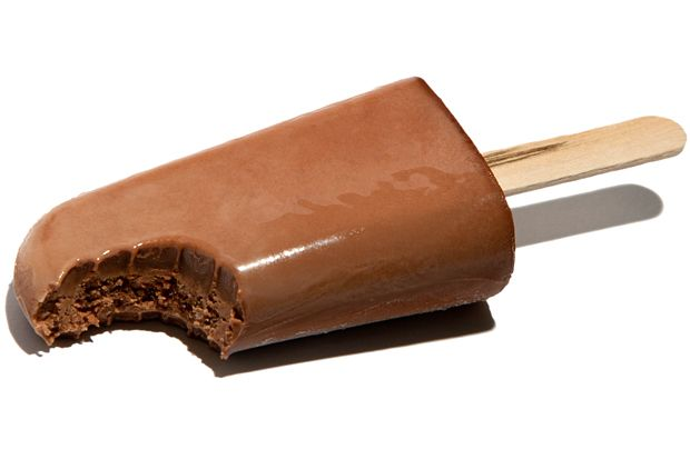 Chocolate Pudding Pops Recipe - CHOW | Desserts | Pinterest