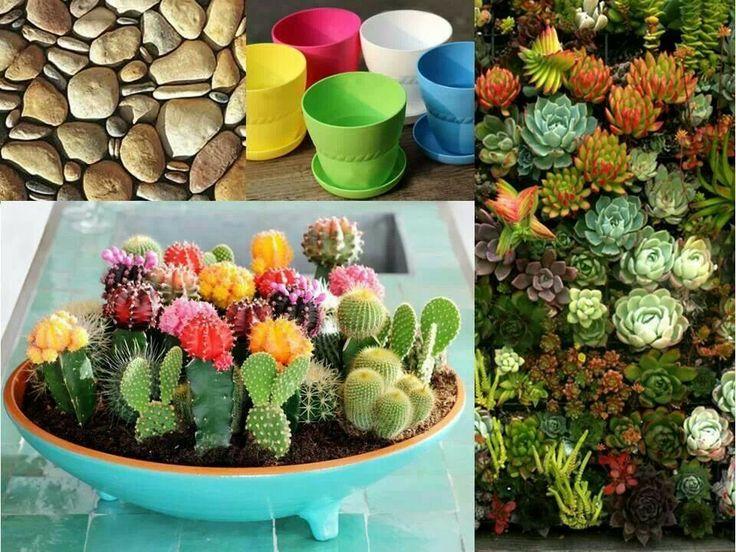 Ideas para jardines peque os miniature gardens pinterest for Ideas para jardines muy pequenos