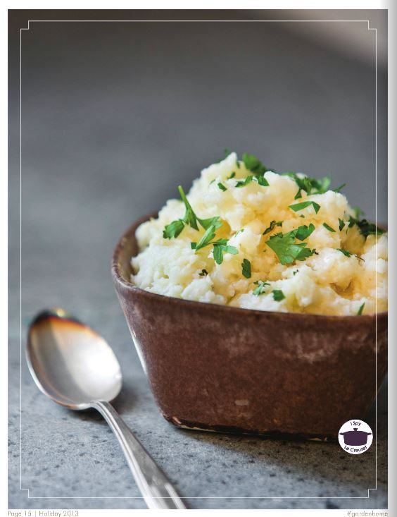 Cauliflower puree. | Glorious food & drink! | Pinterest