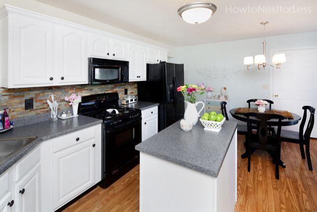 Kitchen Cabinet Makeover On A Budget Kitchen Makeover On A Budget