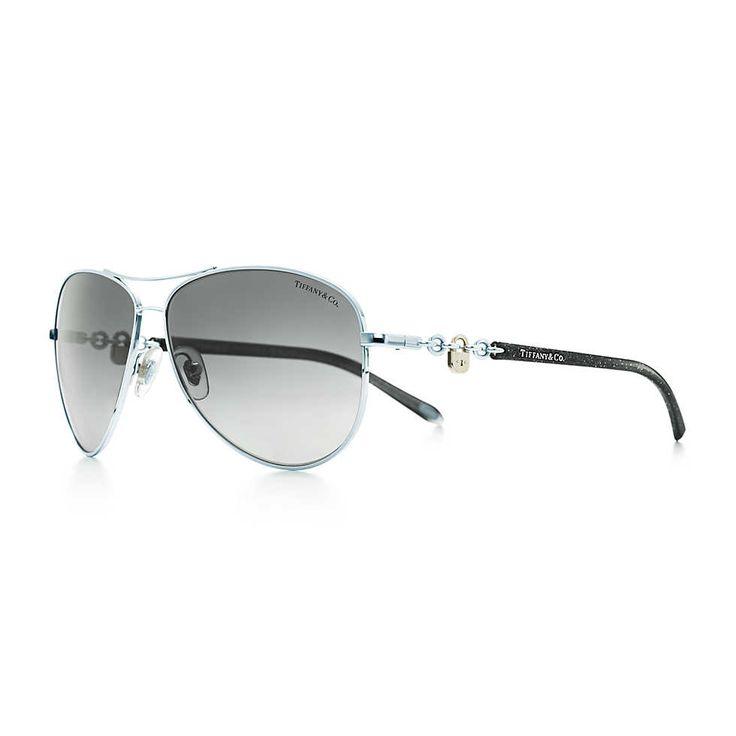 af31f425a1d9 Tiffany Twist Aviator Sunglasses In Tiffany Blue