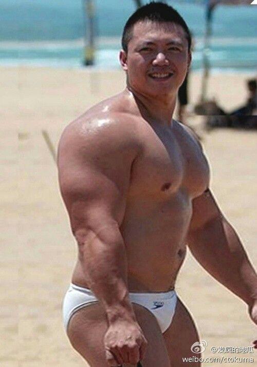 huge gay muscle