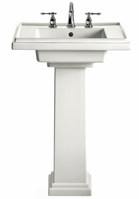 Tresham Pedestal Sink : Kohler Tresham pedestal sink Bath Pinterest