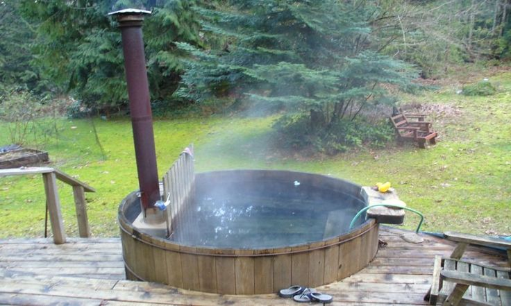 how to build a snorkel hot tub