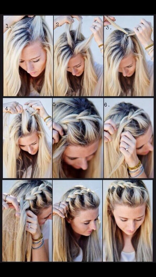 Easy and Quick Back-to-School Hairstyles (Heatless) -
