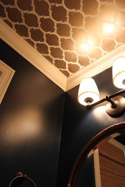 Powder Room Ceiling