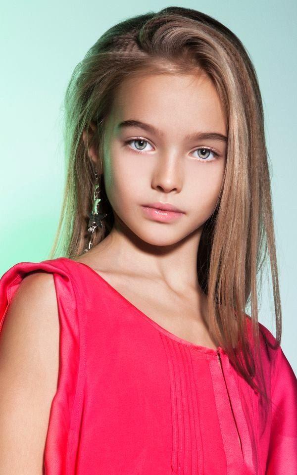 Russian child model Anastasia Bezrukova. | Model | Pinterest