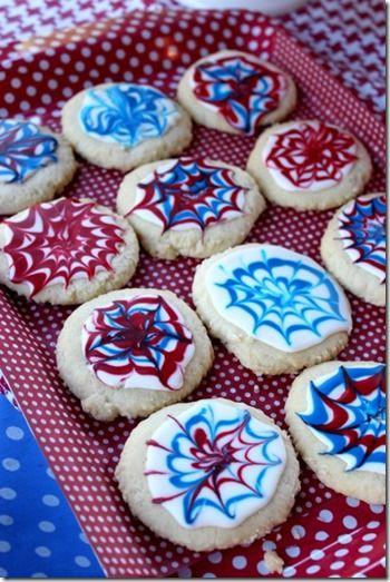 fireworks cookies | Food | Pinterest