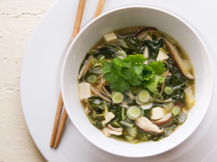 Soba Noodle Soup with Chicken, Tofu, and Bok Choy | Serious Eats ...