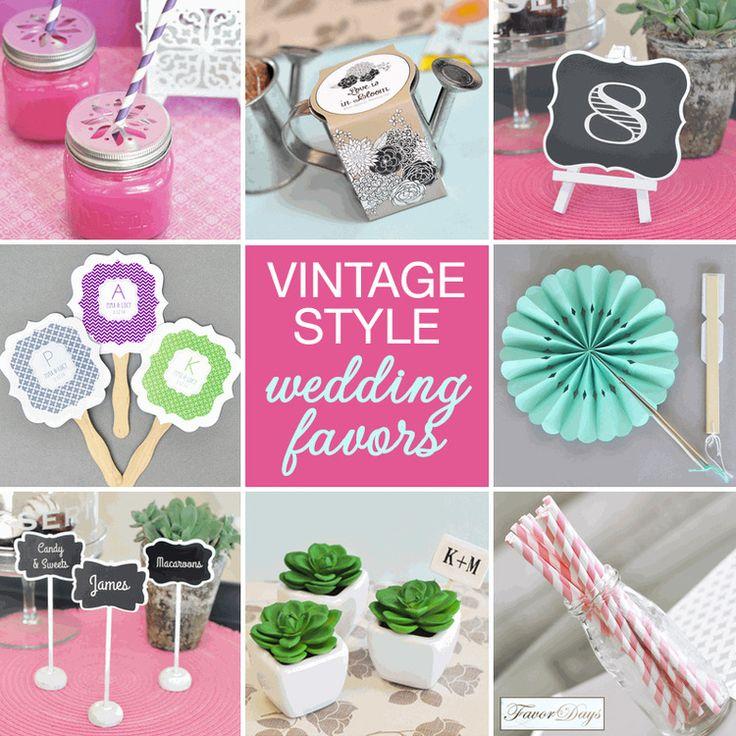 Vintage Wedding Favor Ideas Pinterest : Vintage Style Wedding Favors wedding Pinterest