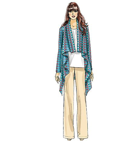 Vogue Jacket and Pants: #V8780. Pattern of the week $4.99. #Sewing #Vogue #Jacket