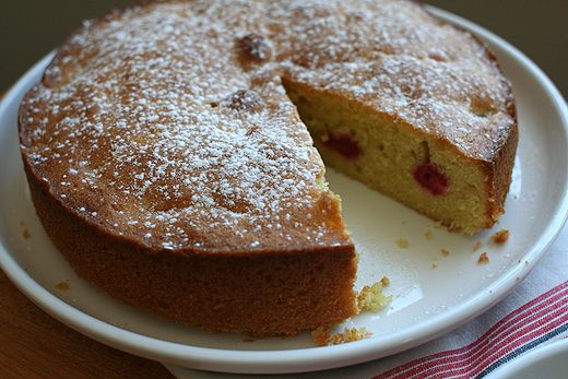 Floriole's Lemon Olive Oil Cake Recipe Desserts with granulated ...