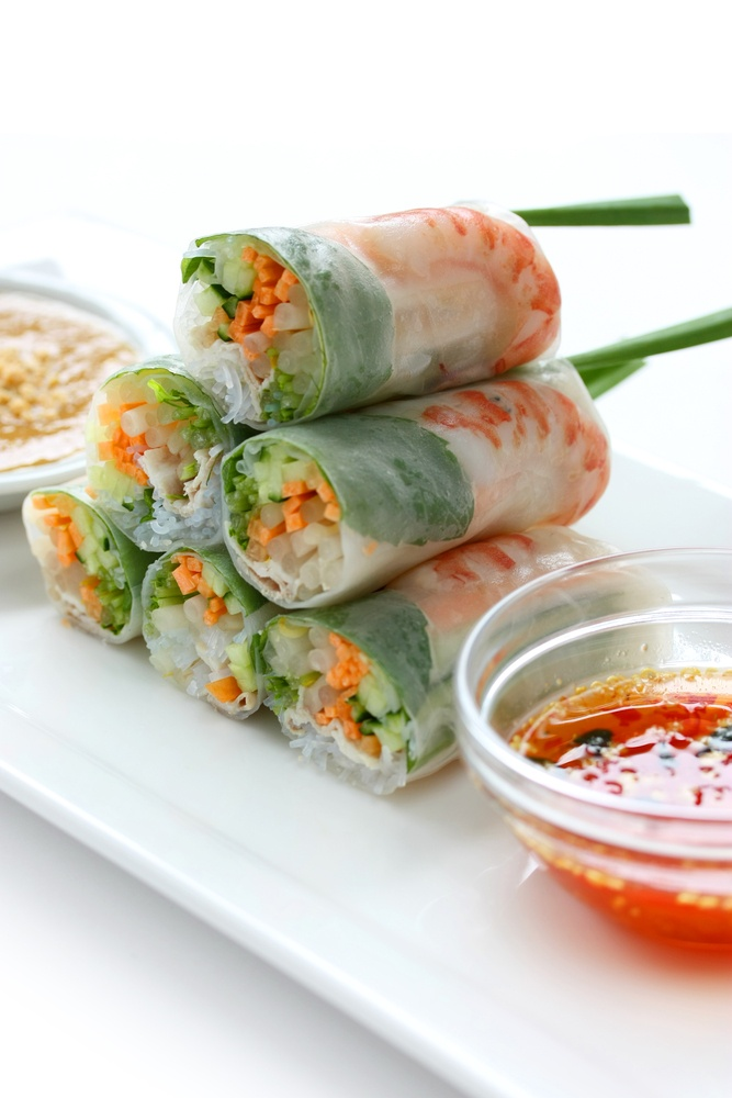 Vietnamese spring Rolls | Feed the Soul | Pinterest