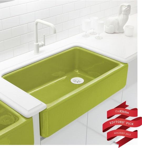 Kohler Purist Sink : Win : KOHLER Whitehaven Kitchen Sink & Purist Faucet ? Holiday ...