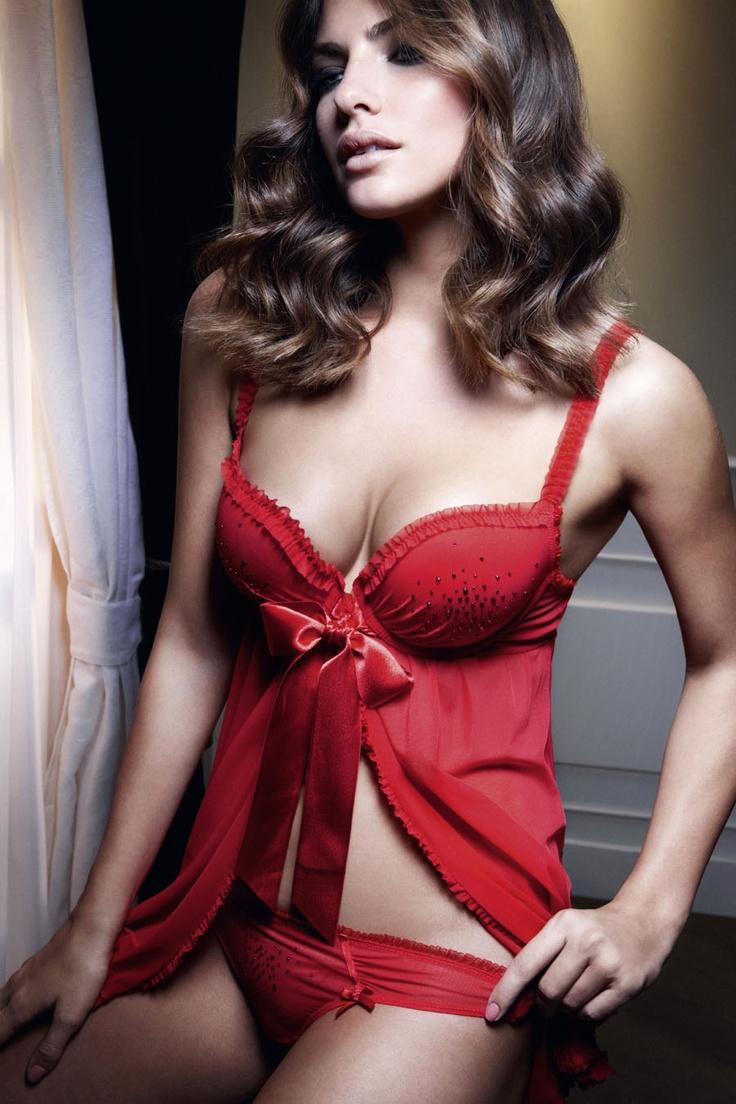 Sexy brunette model celeste star shows off 2