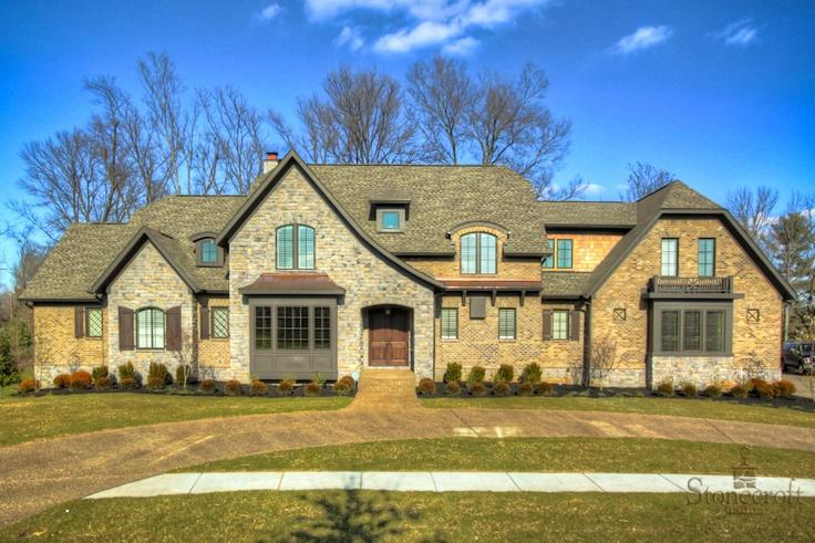 Brick Stone Elevation : Stone and brick elevations joy studio design