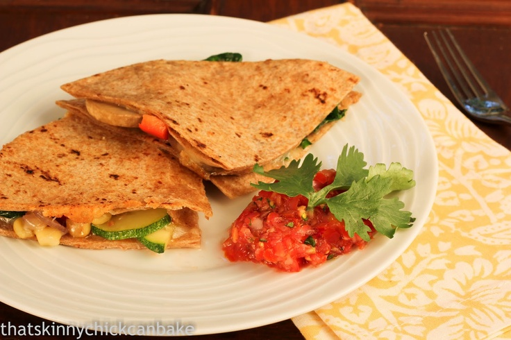 That skinny chick can bake!!!: Corn and Zucchini Quesadillas...Improv ...