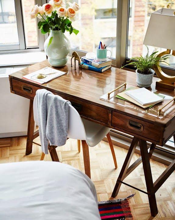 Retro home office - Daily Dream Decor