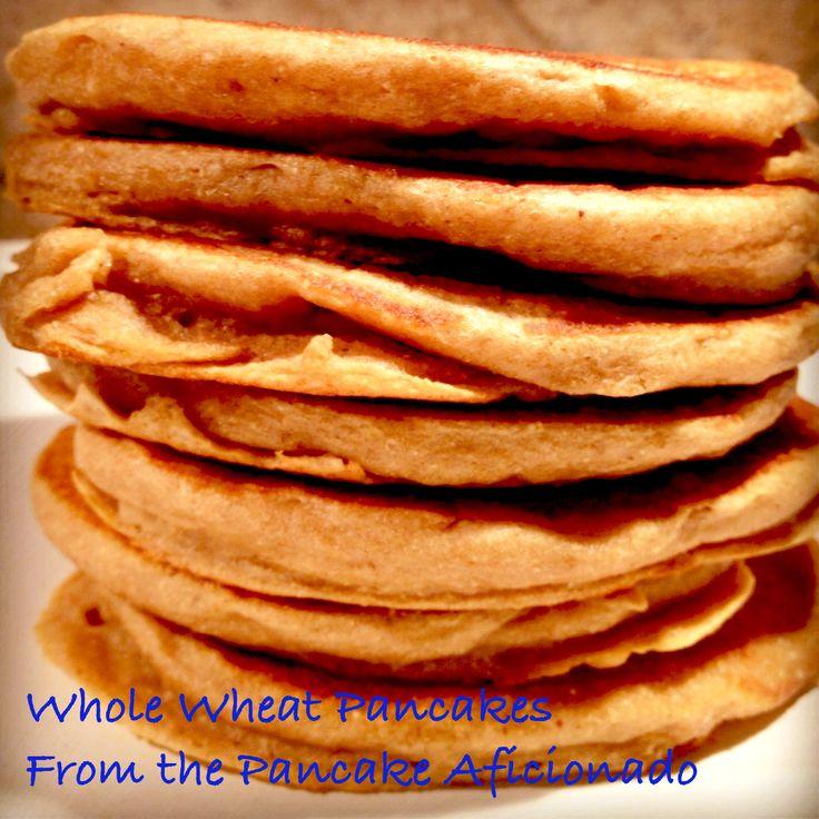 whole wheat pancakes | Recipes | Pinterest