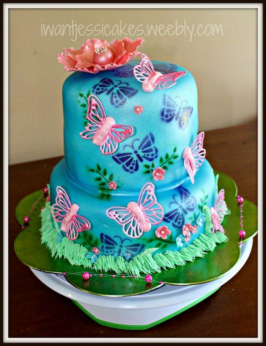 butterfly cake | Decorated Cakes | Pinterest