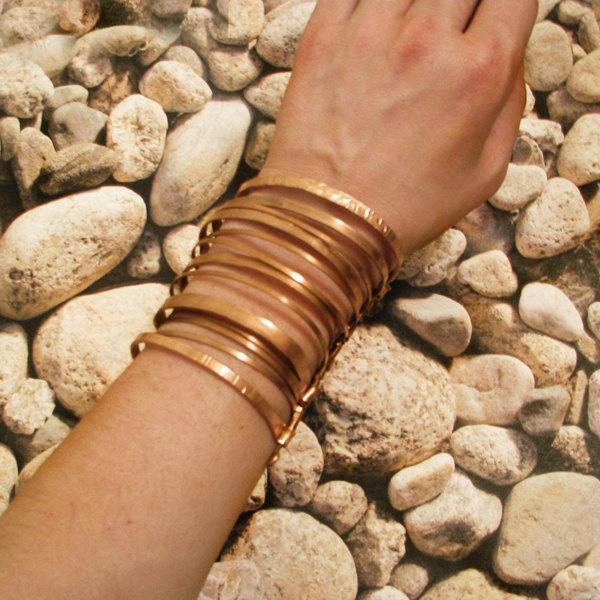 Copper Cuff Bracelet via Etsy.