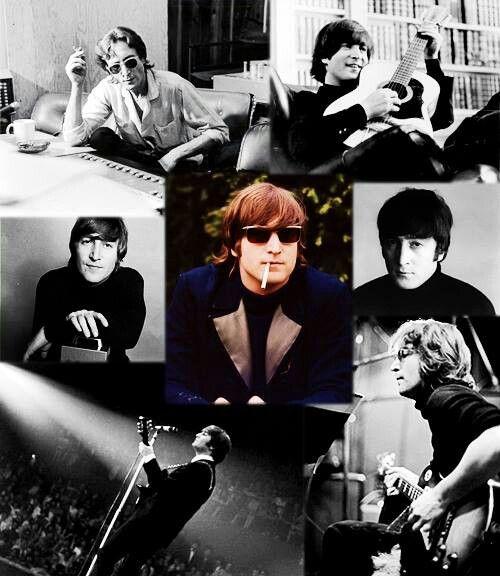 John Lennon collage