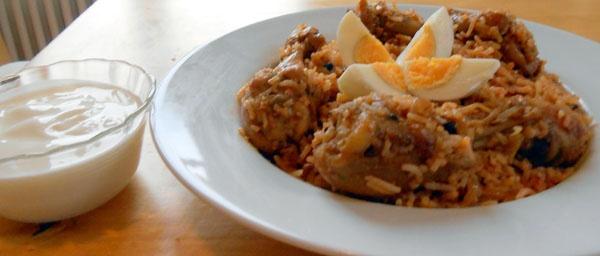 Mouthwatering Chicken Biryani dish | Indian Dishes | Pinterest
