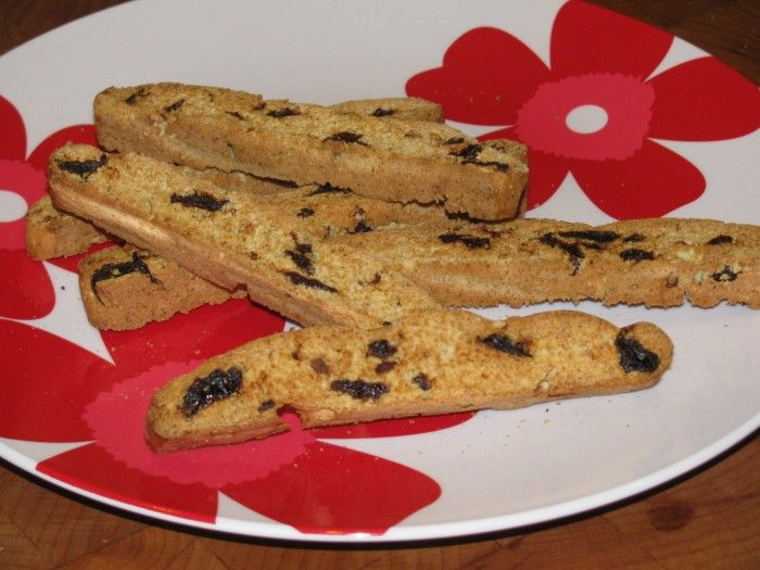 Cherry Almond Biscotti- 67 calories - Lose Weight By Eating | with ...