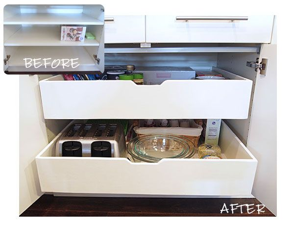 how to build kitchen cabinet drawers