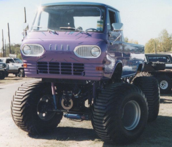 1962 econoline monster truck nice trucks pinterest. Black Bedroom Furniture Sets. Home Design Ideas