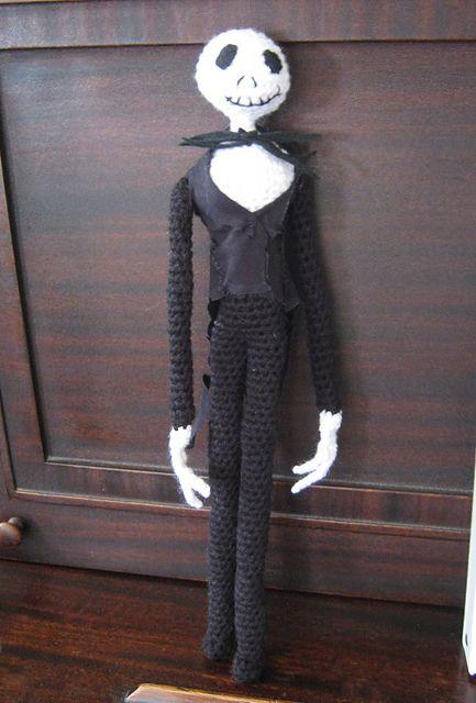 Jack Skellington crochet doll pattern by Assunta Cicalese