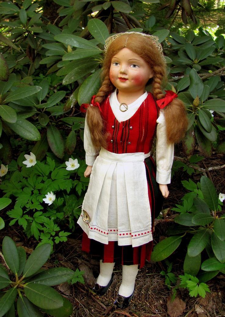 Finnish costume doll