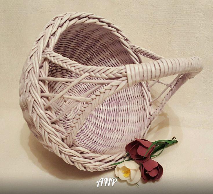 Плетение из газет лада