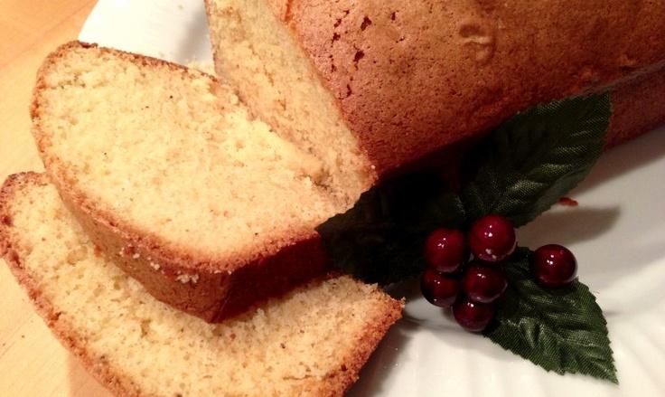 Eggnog Pound Cake | Down the Gullet | Pinterest