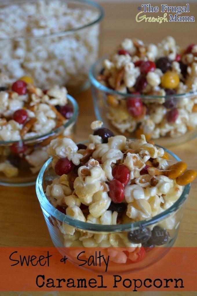 Caramel popcorn | Delightfully Spooky | Pinterest