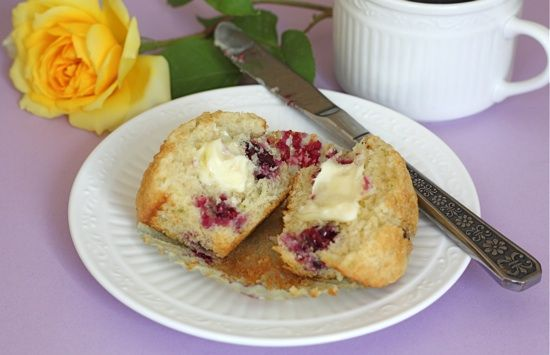 Blackberry Lime Muffins | Recipe