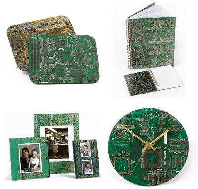 Placas eletrônicas.