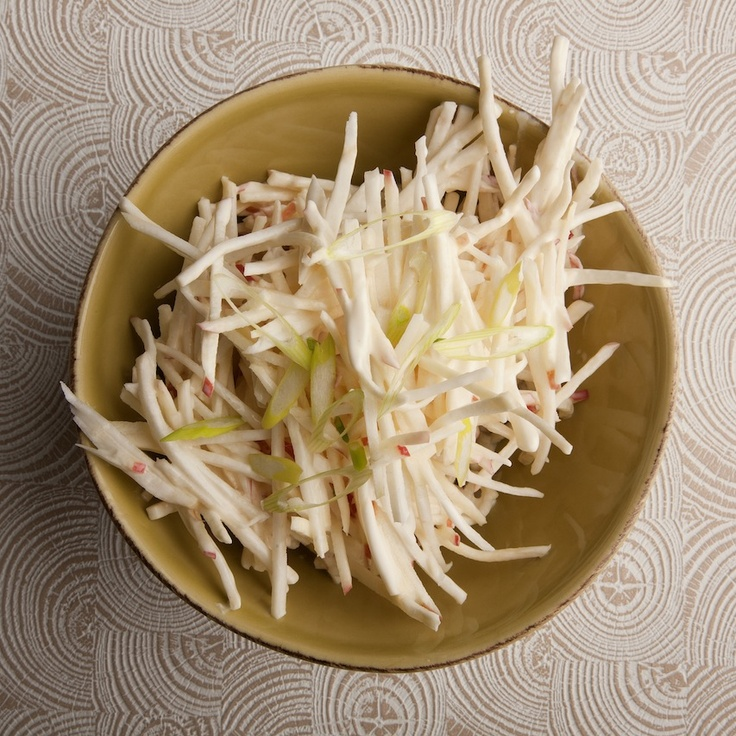 Celery Root & Apple Remoulade. This delicious winter salad uses a ...