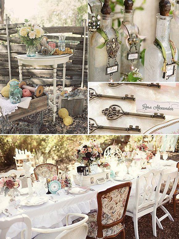 Bodas Decoracion Vintage ~ Decoracion boda vintage  Casa vintage  Pinterest