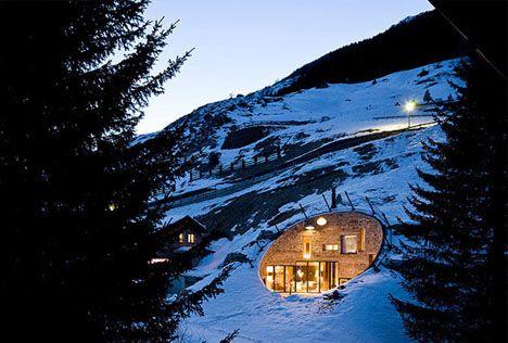 Villa Vals: A mountain home;  Switzerland