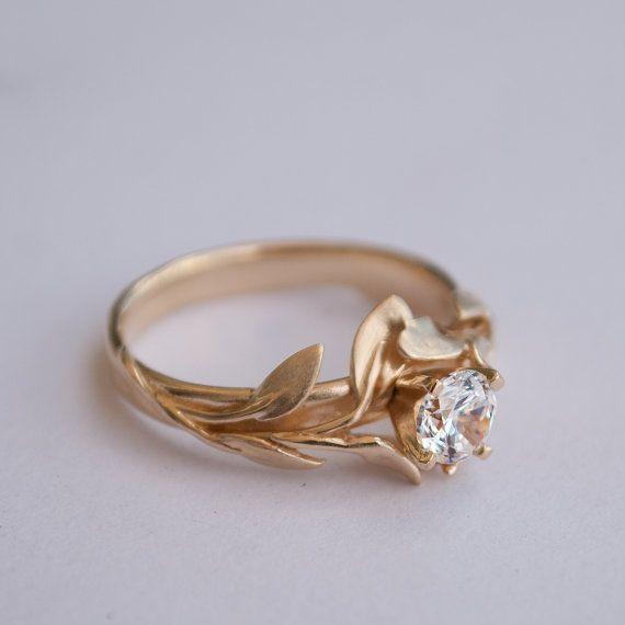 Gold Wedding Rings Gold Engagement Ring No Diamond