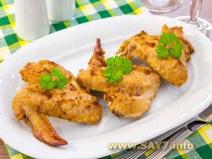 Куриные крылышки с гречкой в мультиварке рецепты